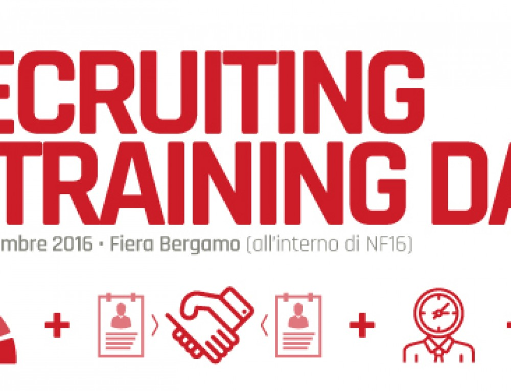 Recruitment & Training Day: domanda e offerta di lavoro si incontrano a #NF16