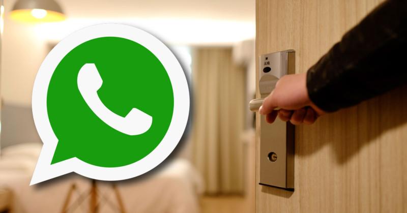 whatsapp hotel